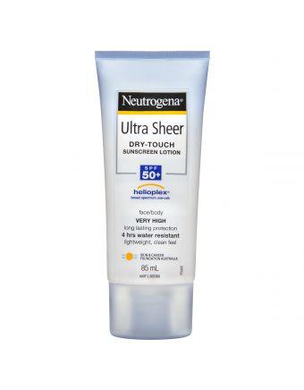 Neutrogena Ultra Sheer Body Lotion Spf 50+ 85mL