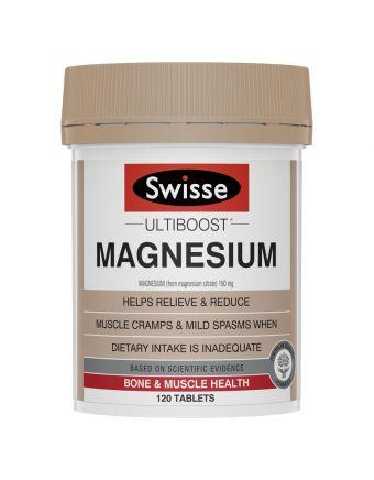 SWISSE ULTIBOOST MAGNESIUM 120 TAB