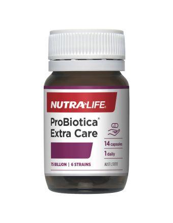 Nutra-Life Probiotica Extra Care with Prebiotics 14 Capsules