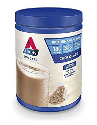 Atkins Advantage Protein Shake Mix Chocolate 330g
