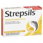 Strepsils Sore Throat Relief Honey & Lemon 36 Pack