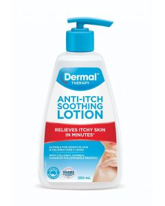 Dermal Therapy Anti Itch Soothing Lotion 250mL