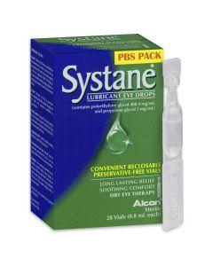 Systane Lubricant Eye Drops 28 x 0.8 mL