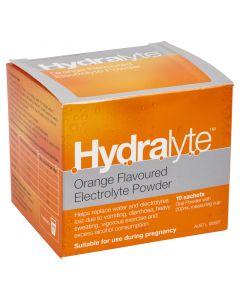HYDRALYTE SACHETS ORANGE 5G X 10