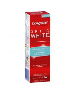 Colgate Optic White Enamel White Sparkling Mint Whitening Toothpaste with Hydrogen Peroxide 95g
