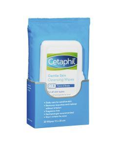 Cetaphil Gentle Skin Cleaning Wipes 25 Pack