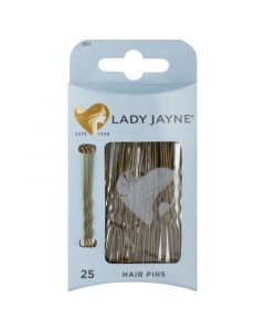 Lady Jayne Hair Pins Brown 6.25cm 25 Pack