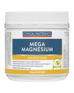 Ethical Nutrients Mega Magnesium Powder (Citrus) 200G