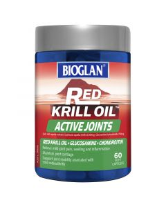 Bioglan Red Krill Active Joints 60S