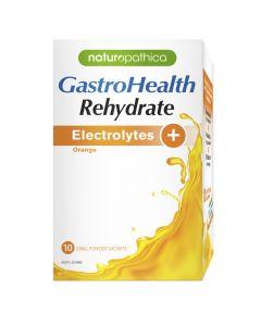 GastroHealth Rehydrate Electrolytes Orange 10 Sachets