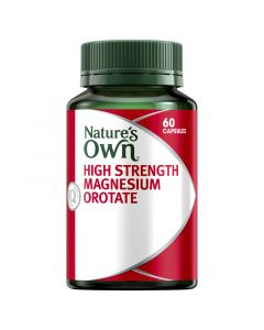 Nature's Own High Strength Magnesium Orotate 800mg Capsules 60