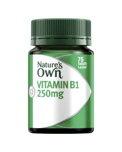 Nature's Own Vitamin B1 250Mg Tablets 75
