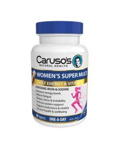 Caruso's Natural Health Women's Super Multi 60 Tablets