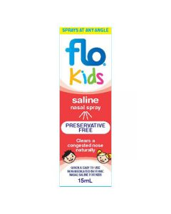 FLO KIDS SALINE SPRAY 15ML