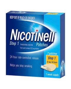 Nicotinell Patches 21mg Step 1 7 Pack